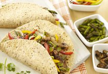 Image: Sizzling Beef and Asparagus Fajitas - Foodland Ontario
