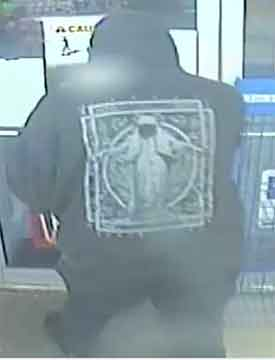TBPS Image - Back of Suspect's Shirt