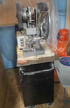 Commercial Pill Press - Image OPP - Largest Fentanyl Bust in Ontario Police history