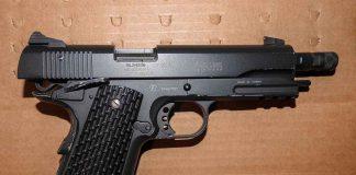 Gun Seized in Raid - Image Thunder Bay Police Service