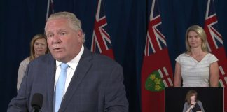 Premier Doug Ford has extended emergency orders until July 22, 2020
