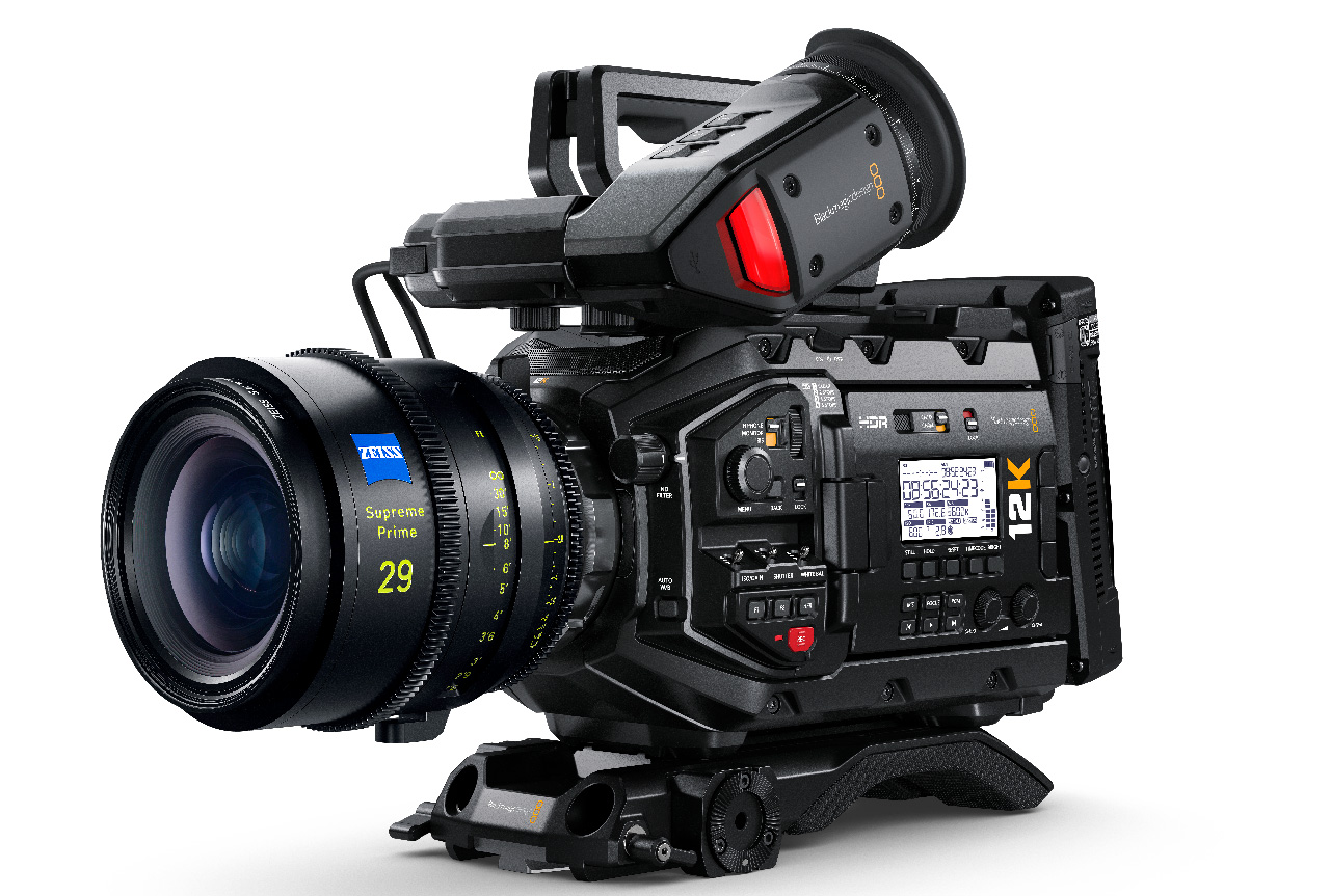 Blackmagic URSA Mini Pro 12K camera