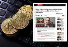 Bitcoin Scheme Uses Martin Lewis To Promote Scams