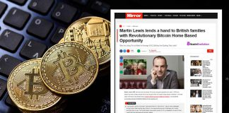 Bitcoin Scheme Uses Martin Lewis To Promote Scams