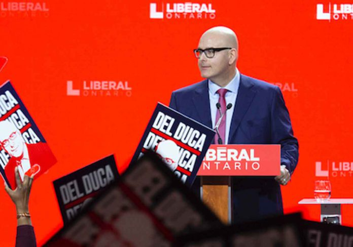 Steven Del Duca, Leader of the Ontario Liberal Party