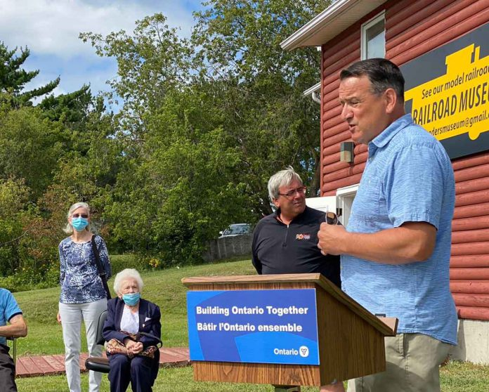 Minister Rickford makes NOHFC Funding Announcements in Kenora