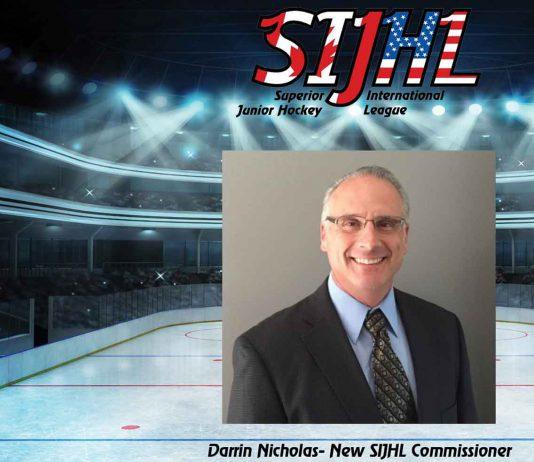 Darrin Nicholas is the new SIJHL Commissioner