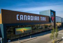Canadian Tire Retail store in Edmonton, Alberta, Canada