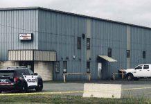 Thunder Bay Police Service Unit on scene of Sudden Death on Main Street - August 30 2020 - Image James Murray NNL