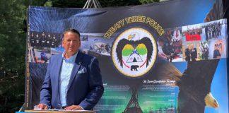 Minister Rickford announced $300k for Treaty Three Police