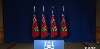 Ontario press conference Doug Ford