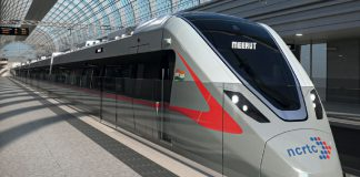 Bombardier celebrates unveiling of train design for India's first semi-high-speed RRTS corridor