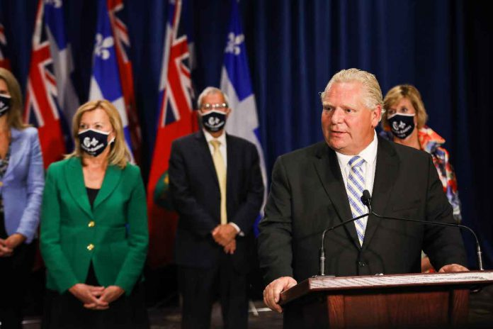 Premier Ford at Ontario-Quebec Summit