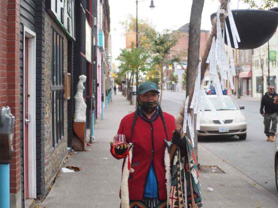 Walking May Street