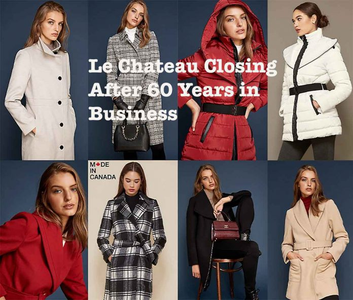 After sixty years, Le Chateau is closing its doors.
