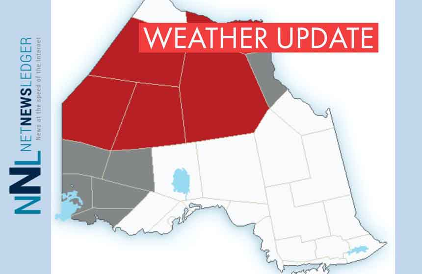 Snowfall Warnings and Special Weather Statements Issued