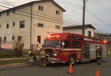 TBFR on scene at Wilson Street Fire