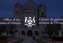 Ontario Premier Press Conference