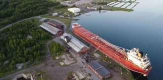 Heddle Shipyards in Thunder Bay