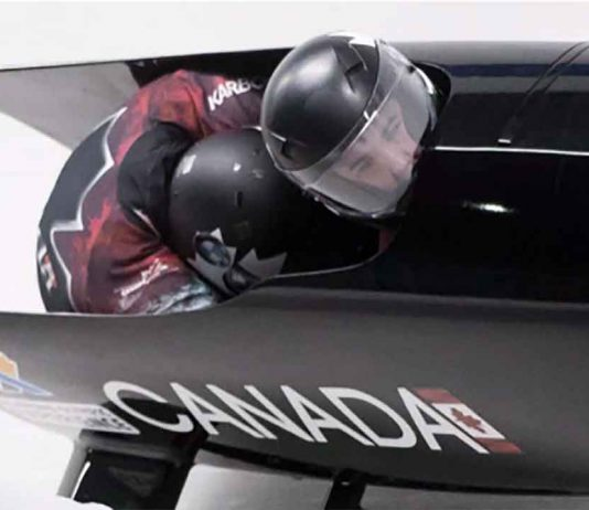 Canada National Bobsleigh Team