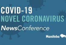 Manitoba Press Conference on COVID-19