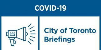 Toronto COVID-19 Update