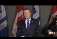 Mayor John Tory Press Conference