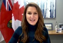 Minister of Transportation Caroline Mulroney