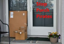 Do your best to put a halt to porch pirates this year.