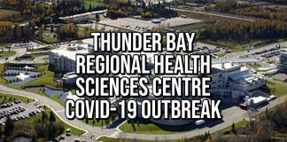 COVID-19 Outbreak declared on 1A Oncology at Thunder Bay Regional Health Sciences Centre