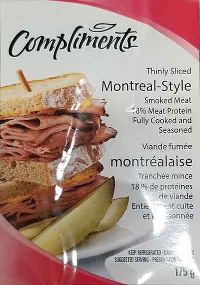 Compliments and Leavitt Deli Meats Recall Update