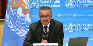World Health Organization COVID-19 Update