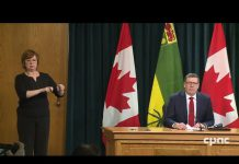Saskatchewan Premier Scott Moe - COVID-19 Update
