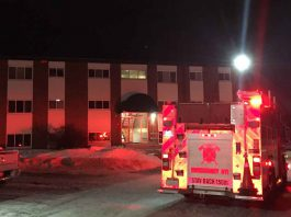 Clarkson Apartment Fire - Image TBFR