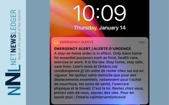 Emergency Lockdown Alert
