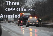 Three OPP Officers arrested in Towing Investigation