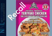 Farmboy Chicken Recall