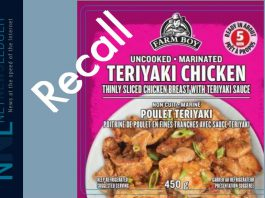 Farmboy Chicken Recall