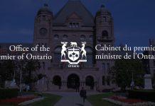Ontario press conference