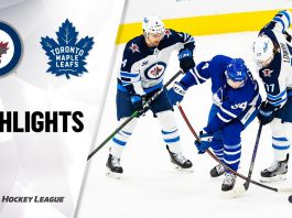 Jets Leafs NHL Highlights