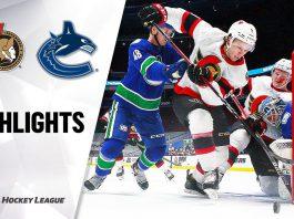 Vancouver Canucks Top Ottawa Senators
