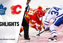 NHL Highlights Leafs vs Flames