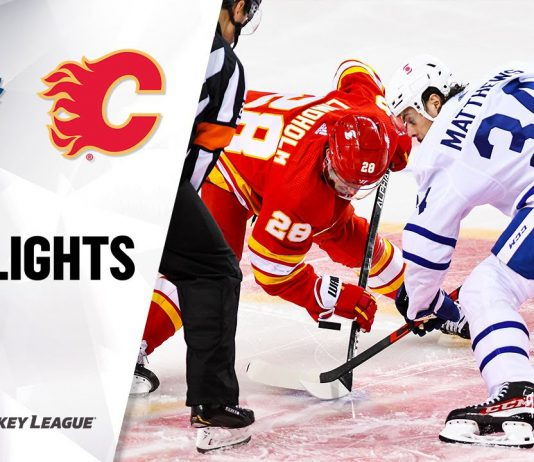NHL Highlights Leafs vs Flames