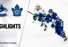 Toronto Maple Leafs vs Vancouver Canucks