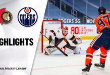 Ottawa Senators Edmonton Oilers NHL