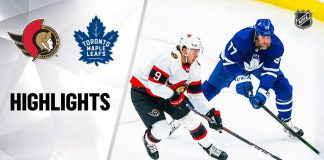 Leafs Senators NHL