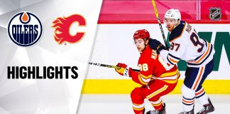 Flames vs Oilers