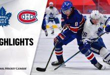 Leafs vs Canadiens