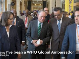 WHO Global Ambassador