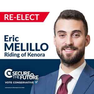 Eric Melillo - Conservative Kenora